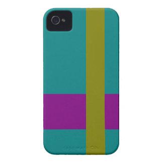 Mezcla complementaria de la combinación tricolor d Case-Mate iPhone 4 cobertura