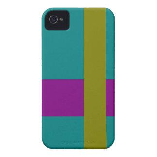 Mezcla complementaria de la combinación tricolor iPhone 4 carcasa