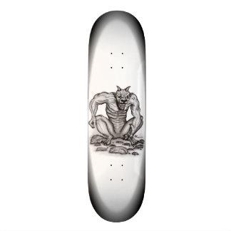 Mezcla-criatura - duende, Golem y diablo Skateboards
