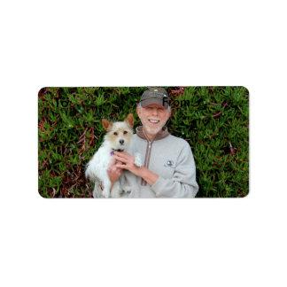 Mezcla de Jack Russel Terrier - Winnie - Omán Etiquetas De Dirección
