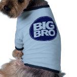 mezcla de la camiseta del bro y diseño grandes del camisetas de perro