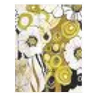 Mezcla de la flor (polivinílicos retros) tarjetas postales