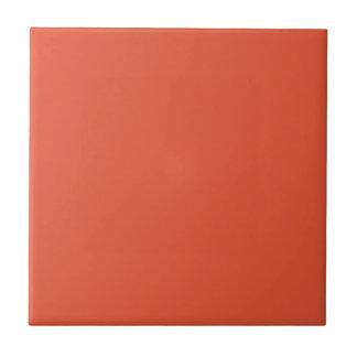 Mezcla de la mandarina y teja de color naranja del