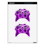 Mezcla de la púrpura y del negro - SK Mando Xbox 360 Calcomanía
