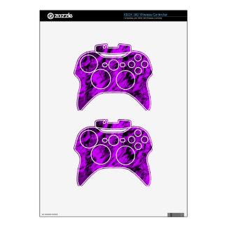 Mezcla de la púrpura y del negro - SK Mando Xbox 360 Skin