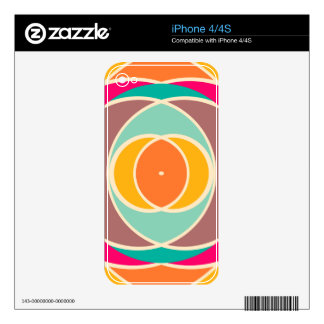 Mezcla de las formas skins para iPhone 4
