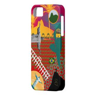 Mezcla de Río de Janeiro iPhone 5 Carcasas
