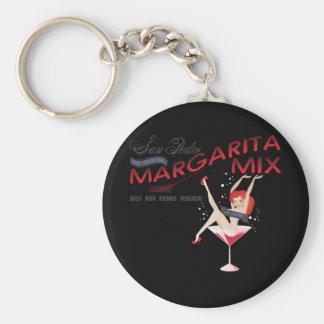 Mezcla de San Pedro Margarita Llavero Personalizado