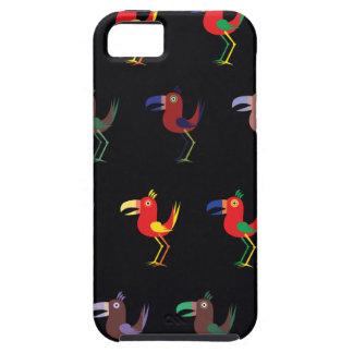 Mezcla de Tucan de color morado oscuro iPhone 5 Carcasa