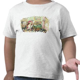 Mezcla de una receta para los granos, publicada po camiseta