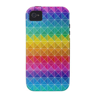 Mezcla del arco iris Case-Mate iPhone 4 carcasa