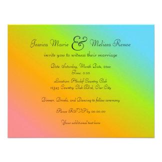 Mezcla del arco iris - le invitan comunicados personales