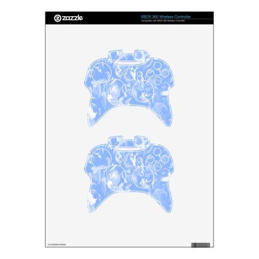 Mezcla del azul y del blanco de cielo - SK Mando Xbox 360 Calcomanía