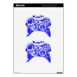 Mezcla del azul y del blanco - SK Mando Xbox 360 Skin