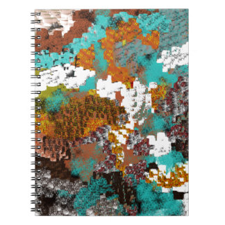 Mezcla del bloque del modelo del color libreta