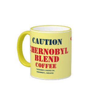 Mezcla del café de Ucrania - de Chernóbil Taza De Dos Colores