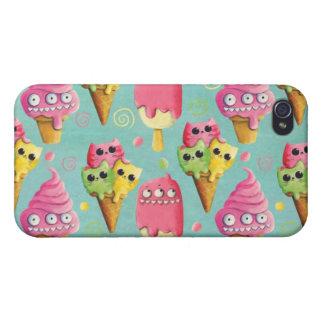 Mezcla del helado del verano iPhone 4 coberturas