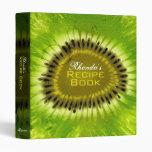 Mezcla del kiwi carpeta de la receta de 1 pulgada