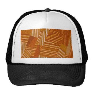 mezcla del modelo, naranja gorras de camionero
