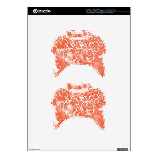 Mezcla del naranja y del blanco de Creamsicle - SK Mando Xbox 360 Skin