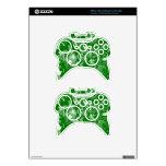 Mezcla del verde esmeralda y del blanco - SK Mando Xbox 360 Skins
