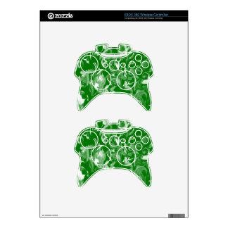 Mezcla del verde esmeralda y del blanco - SK Mando Xbox 360 Calcomanía
