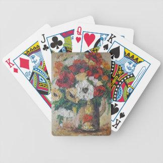 Mezcla Deligh de la flor de la pintura de Ana Haye Barajas De Cartas