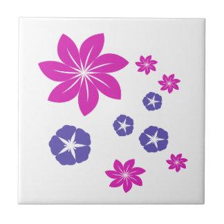 Mezcla floral simple teja