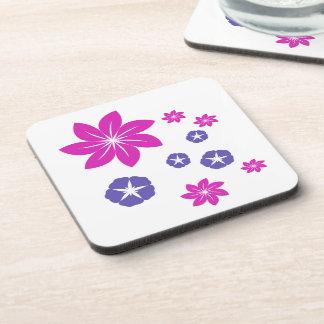 Mezcla floral simple posavaso