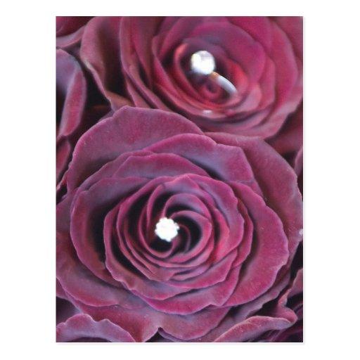 mezcla floral tarjetas postales