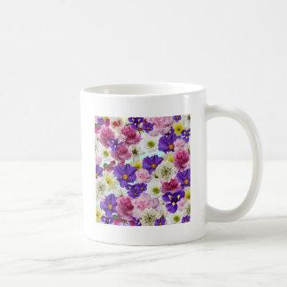 Mezcla floral taza