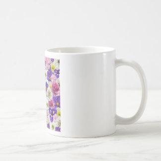 Mezcla floral taza clásica