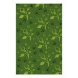 Mezcla floral verde  papeleria