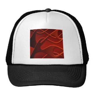 Mezcla fresca abstracta del fuego gorras