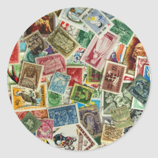 Mezcla húngara del sello etiqueta redonda