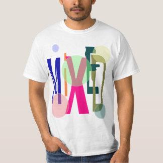 Mezclado (camiseta del negocio) playera