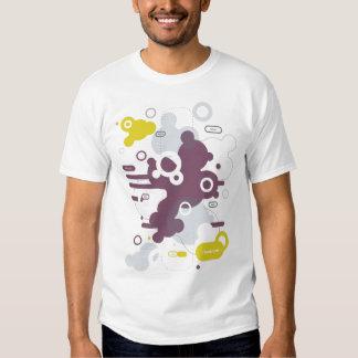 Mezclador - camiseta extranjera urbana de la remera