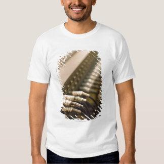 Mezclador de sonidos camisas