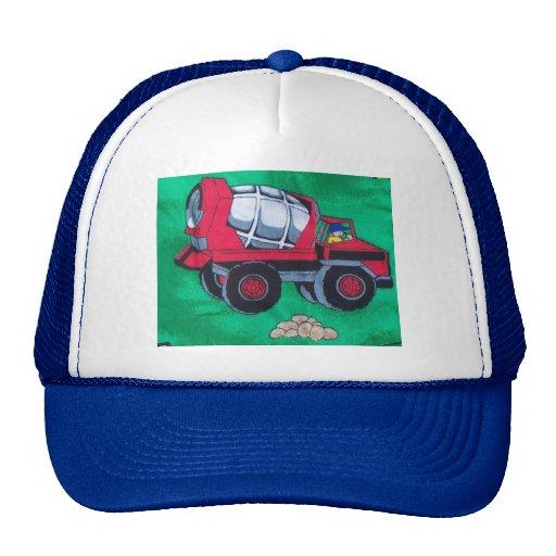 mezclador del dibujo animado gorras