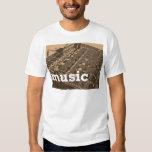 Mezclador del estudio de la música camisas