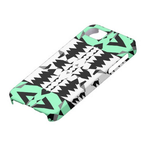 Mezcle #342/2 - caso tribal del iPhone 5 Funda Para iPhone 5 Barely There