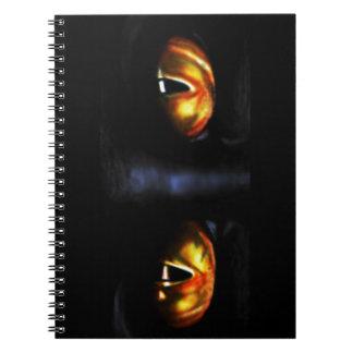 MezmerEyes Fine Art by Derrick Rathgeber Spiral Note Book