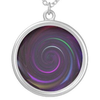 Mezmerize Round Pendant Necklace