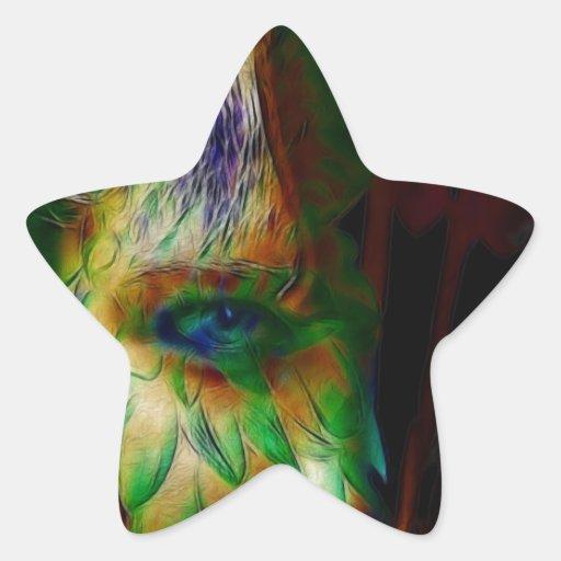 Mezmerized Pegatina En Forma De Estrella