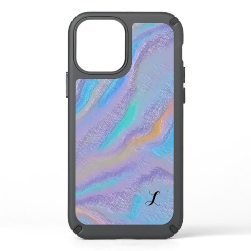 Mezmerizing Iridescent Stone Speck iPhone 12 Case