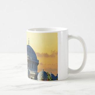 mezquita africana tazas de café