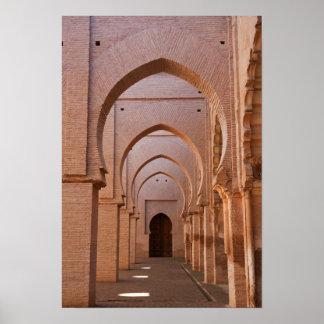Mezquita arruinada y en parte restaurada del now impresiones