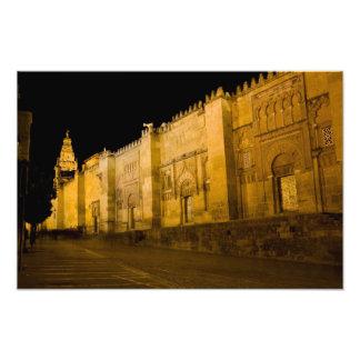 Mezquita at Night in Cordoba Photo
