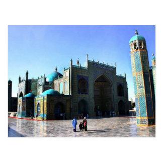 mezquita azul afghani postal