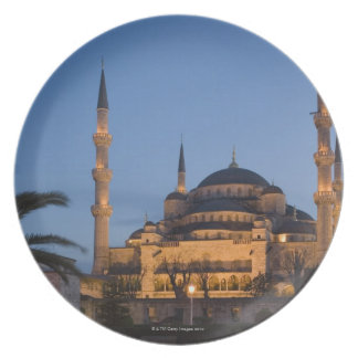 Mezquita azul, área de Sultanhamet, Estambul, Plato